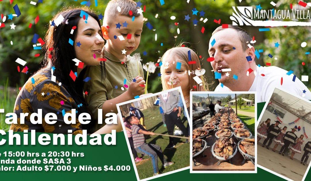 TARDE DE LA CHILENIDAD EN MANTAGUA VILLAGE